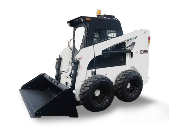 LT65 950kg Skid steer loader with snow blower