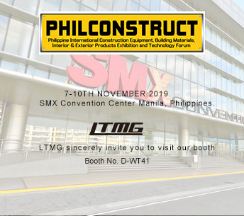 LTMG will attend The PHILCONSTRUCT Manila 2019 exhibition